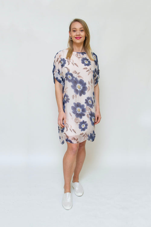 Made in Italy - 19/6448M Floral Dress