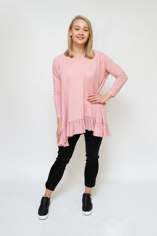 MRSV - Y037 Ruby Ruffle Top