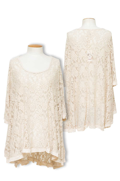 Miss Rose Sister Violet - Lily Lace Top
