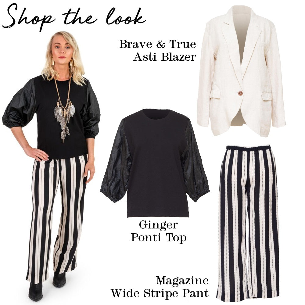 Magazine - P1996 Wide Stripe Pant (Exclusive)
