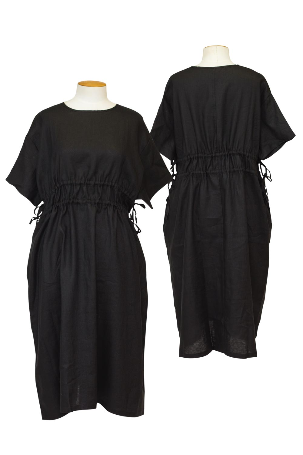 tirelli-double-drawcord-dress