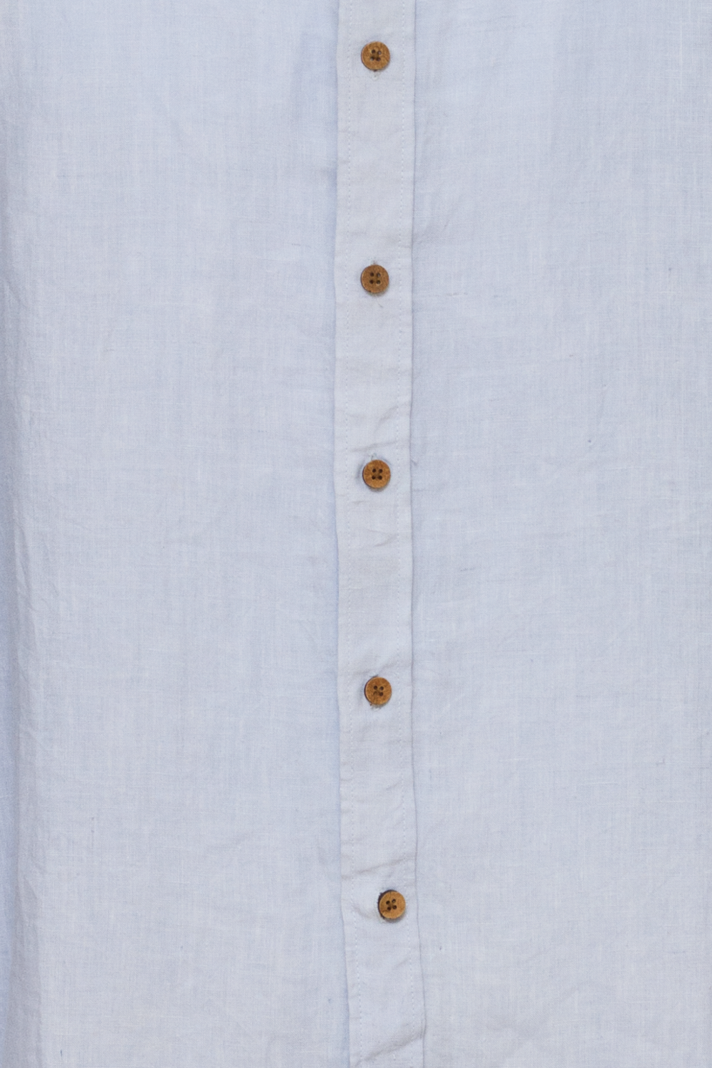 True North - TN160 Mens Oxford Linen Shirt (Blue)