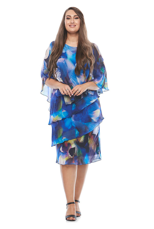 Layla Jones / Jesse Harper LJ0337 - Cape Dress