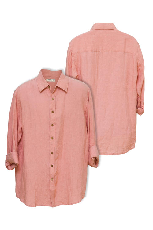 true-north-oxford-linen-shirt-salmon