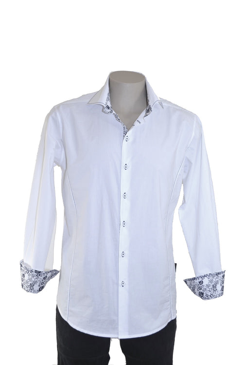 Sir. Hobbs (by Jellicoe) - SH72009 Mens Tapered Fit Shirt