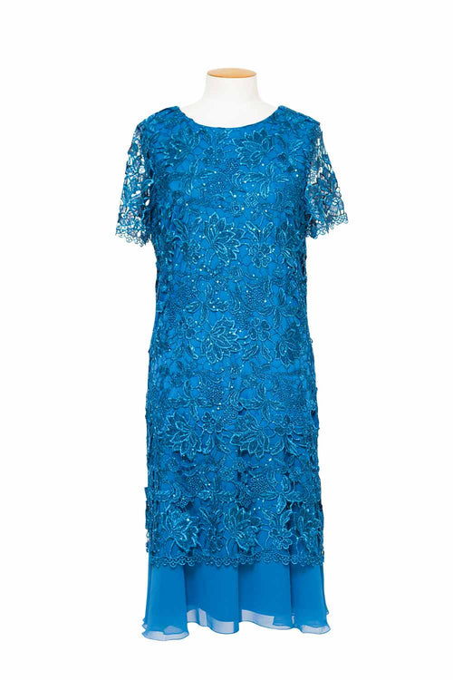 LJ0051 - Lace Sequin Dress