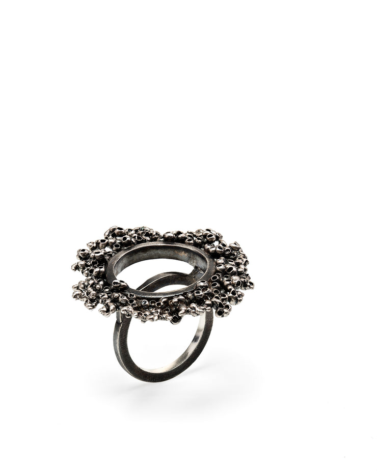 Oxidized Silver Ring