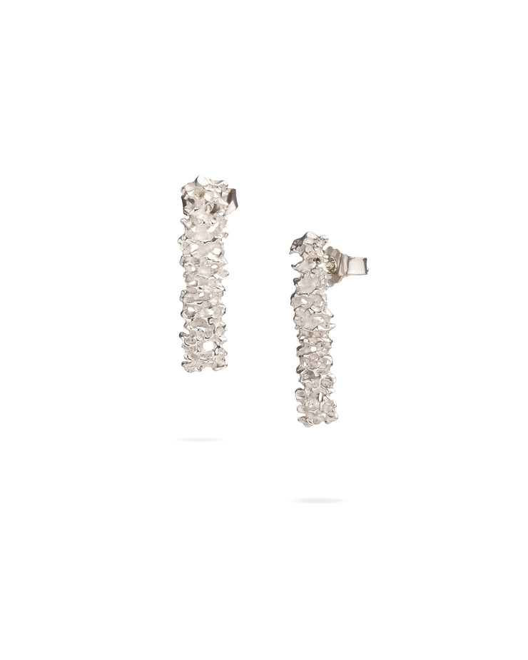 Sterling Silver Earrings - Sea caves