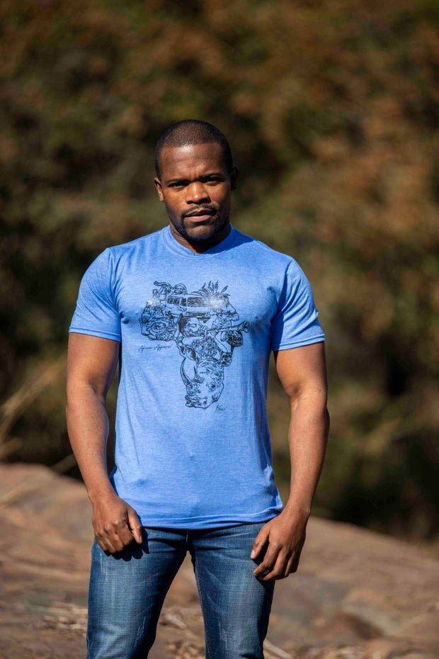 African Apparel Signature Men's T Shirt