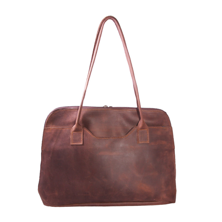 The Lily Leather Laptop Bag