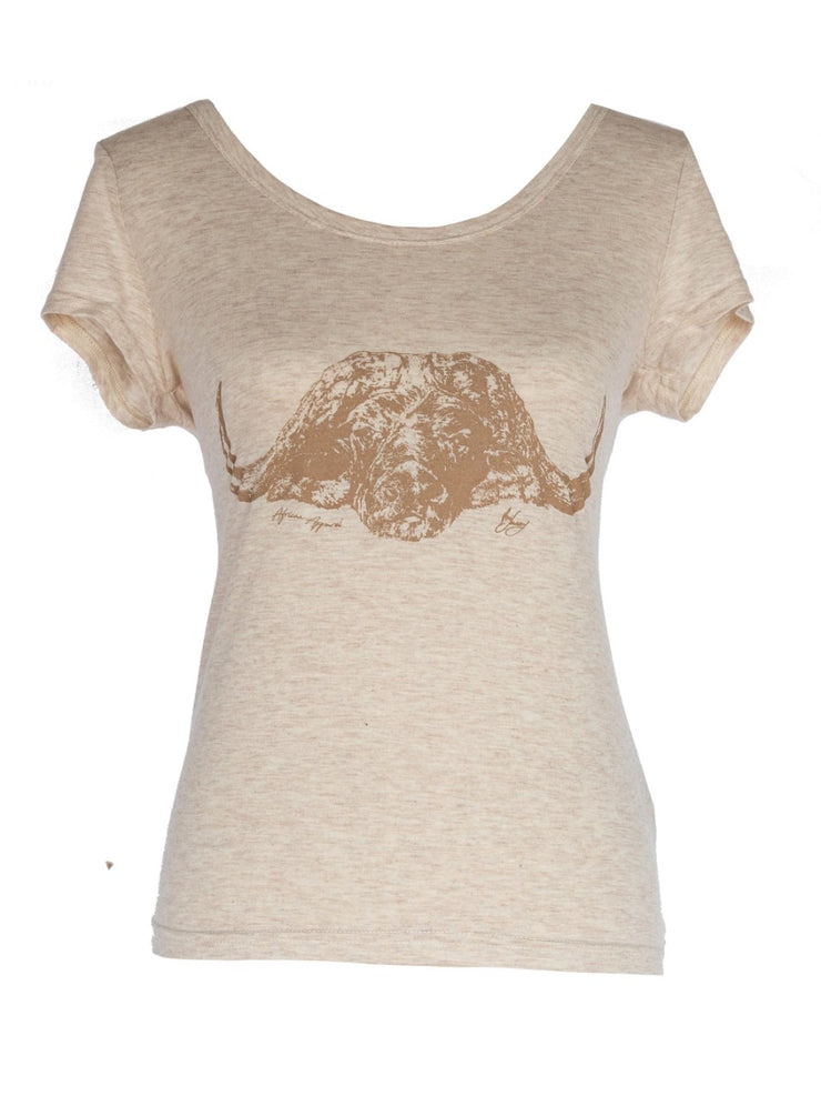 The Buffalo Scooped Neck T Shirt