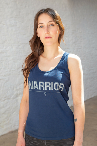 Warrior tank | dark blue