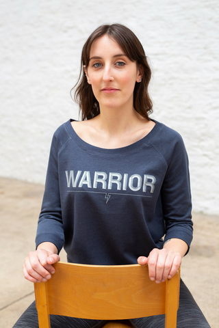 Warrior summer sweatshirt