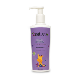 Baby Lotion with Lavender Essential Oil - 200ml - Bnatural Pakistan