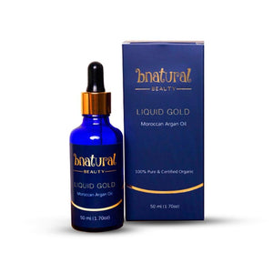 Liquid Gold (Moroccan Argan Oil) - 50 ml - Bnatural Pakistan