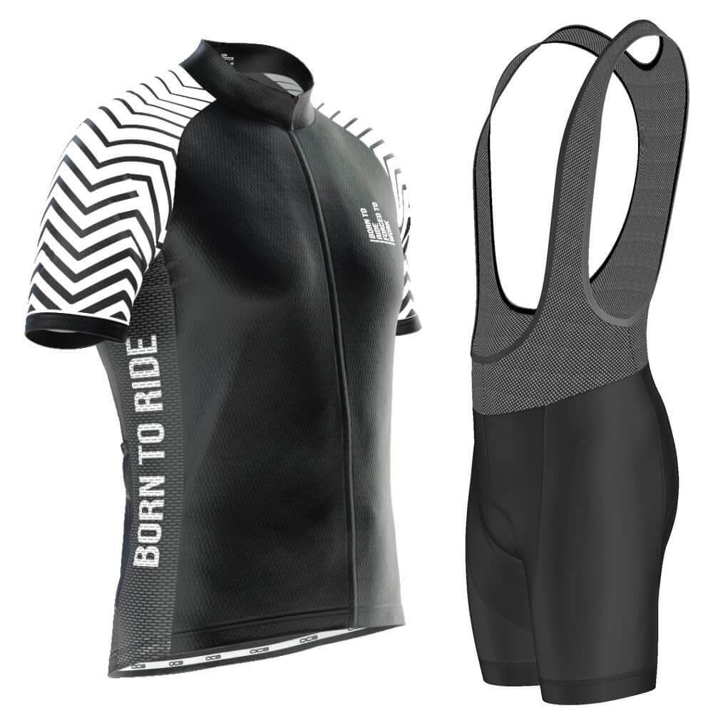 Born To Ride Forced To Work Pro-Band Cycling Kit-OCG Originals-Online Cycling Gear Australia