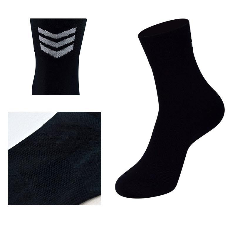 DV Unisex Chevron Mid-Length Pro Cycling Socks-DV Athletic-Online Cycling Gear Australia