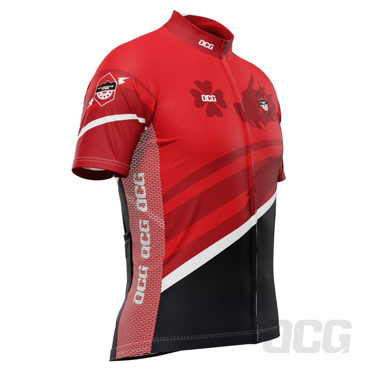 Men's Velocity Alpha Short Sleeve Cycling Jersey