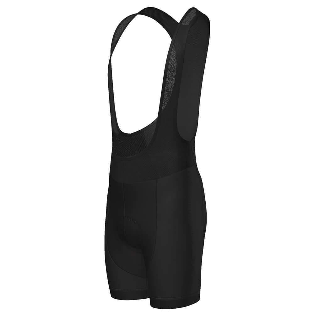 Men's Black Gel Padded Pro-Band Cycling Bib By Online Cycling Gear