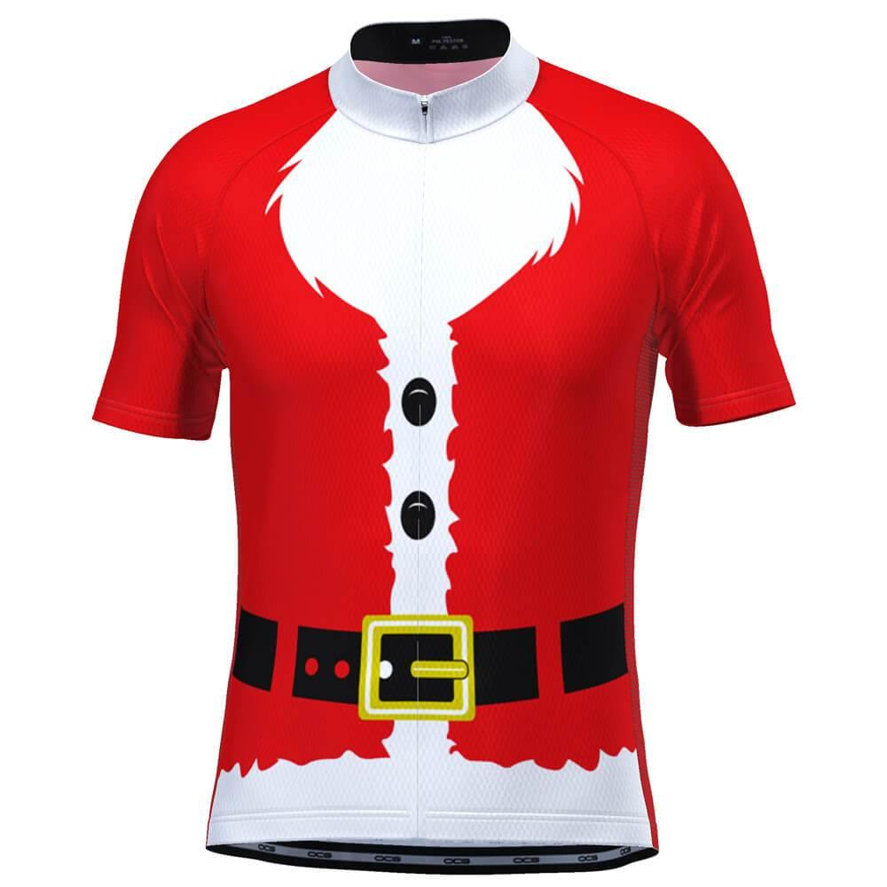 Men's Bearded Santa Claus Suit Christmas Cycling Jersey-Online Cycling Gear Australia-Online Cycling Gear Australia