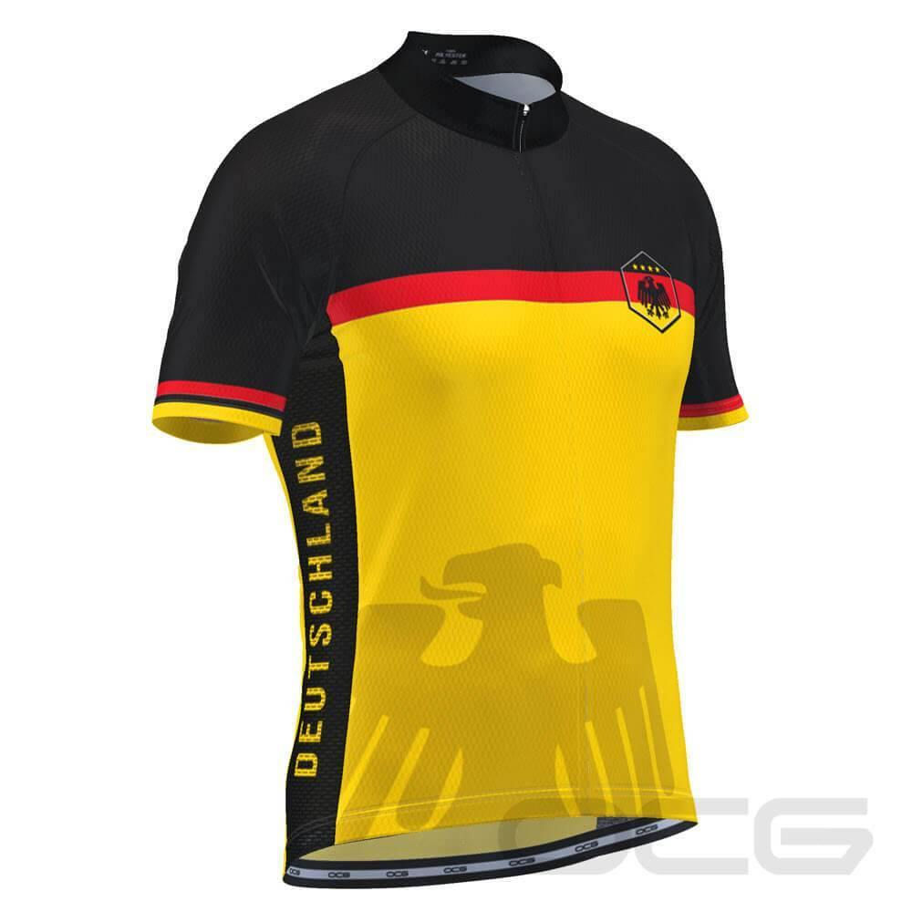 Men's Germany Deutschland National Pro Cycling Jersey-OCG Originals-Online Cycling Gear Australia