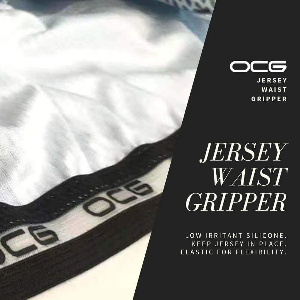 Men's High Viz Classic Stripe Cycling Jersey-OCG Originals-Online Cycling Gear Australia