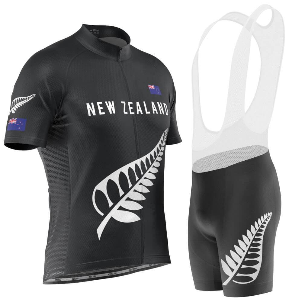 Men's New Zealand Silver Fern Pro Cycling Kit-Online Cycling Gear Australia-Online Cycling Gear Australia