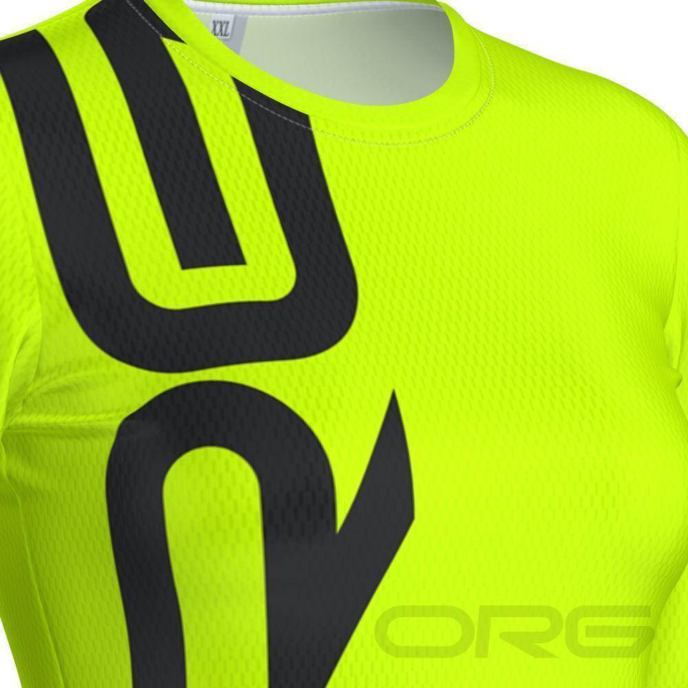 ORG Neon Women's Long Sleeve Performance Shirt-Online Running Gear-Online Cycling Gear Australia