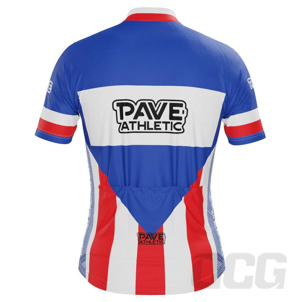 PAVE Athletic Retro Chewing Gum Short Sleeve Cycling Jersey