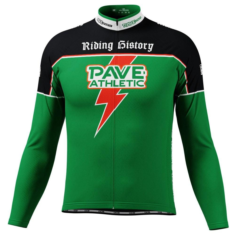 PAVE Athletic Energy Bolt Long Sleeve Cycling Jersey