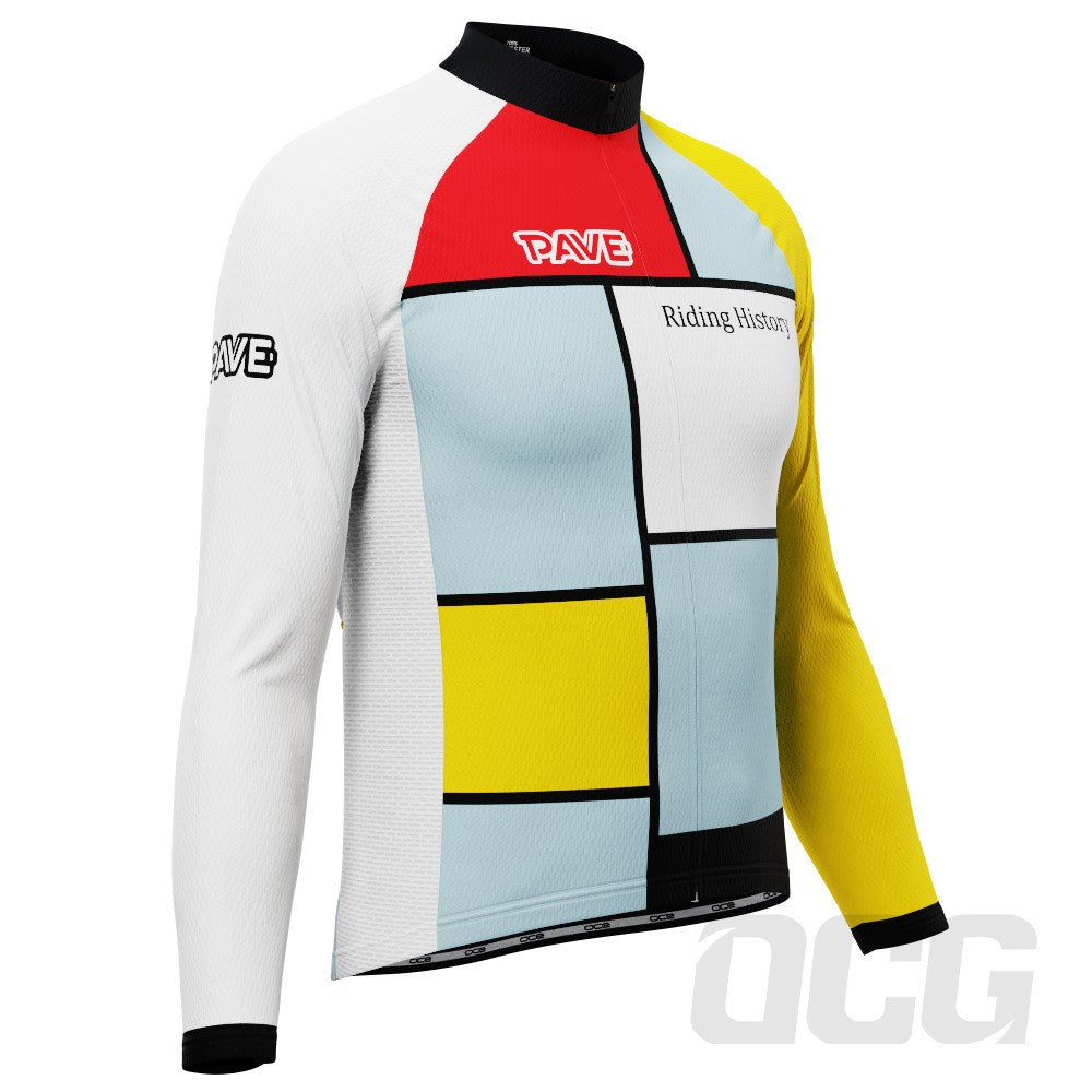 PAVE Athletic Good Health Long Sleeve Cycling Jersey
