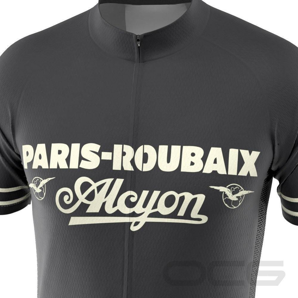 Retro Paris-Roubaix Alcyon Classic Cycling Jersey-OCG Originals-Online Cycling Gear Australia