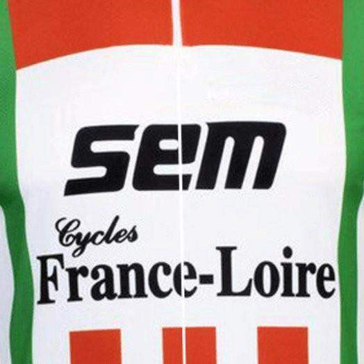 Retro Sem Cycles France Loire Cycling Jersey-Online Cycling Gear Australia-Online Cycling Gear Australia