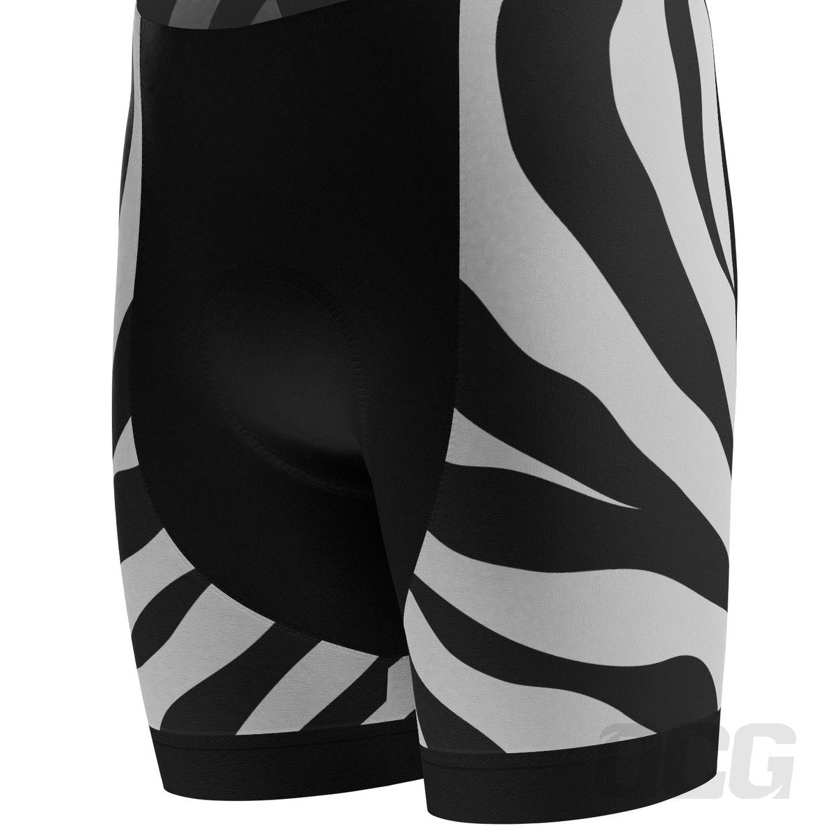 Men's White Tiger Short Sleeve Cycling Kit
