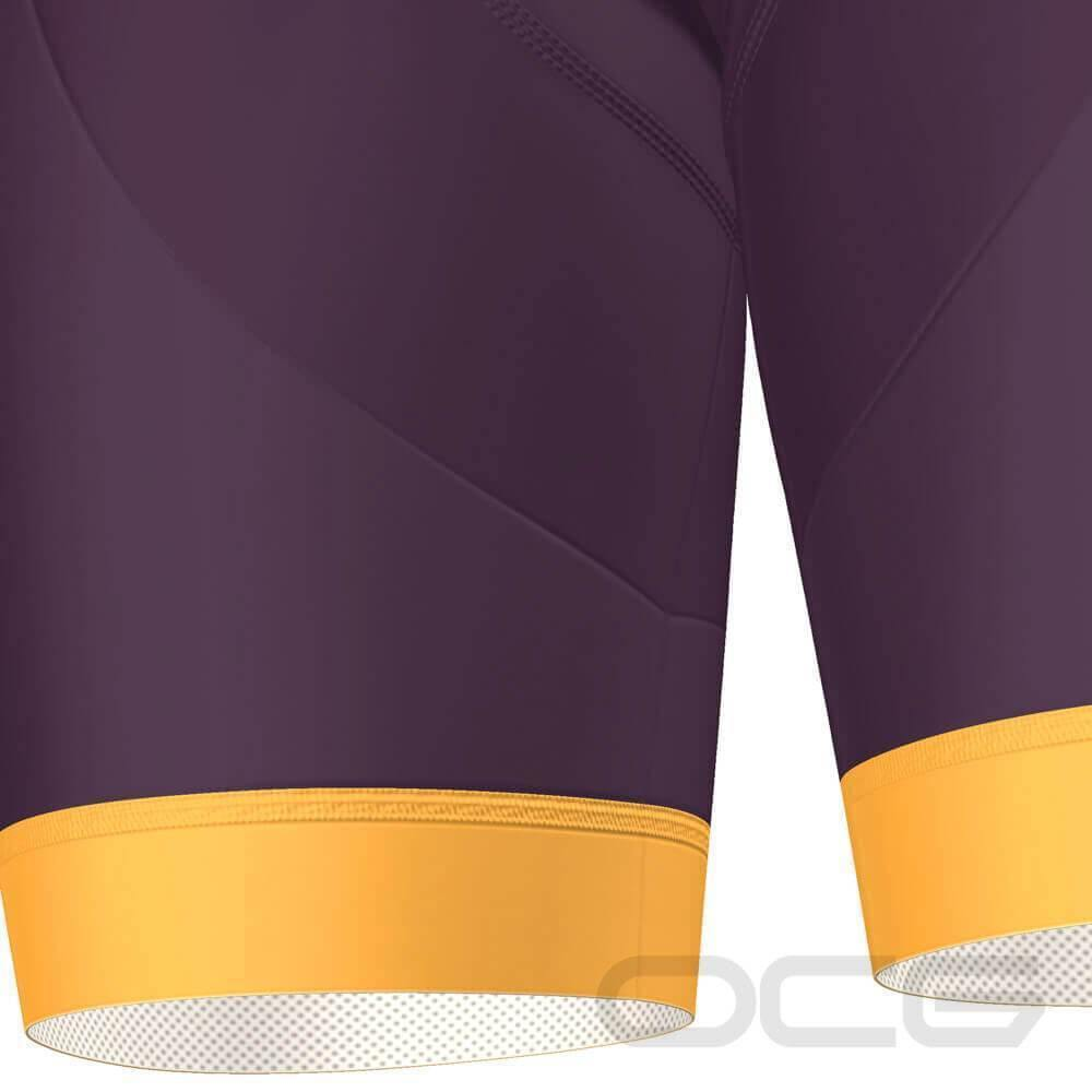 Women's Sunburnt Maroon Pro-Band Cycling Shorts-OCG Originals-Online Cycling Gear Australia