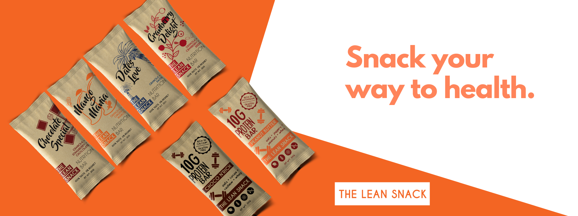 The Lean Snack healthy energy bars