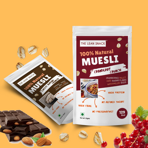 100% Natural Muesli - Assorted crunchy flavours - Rs 30/piece