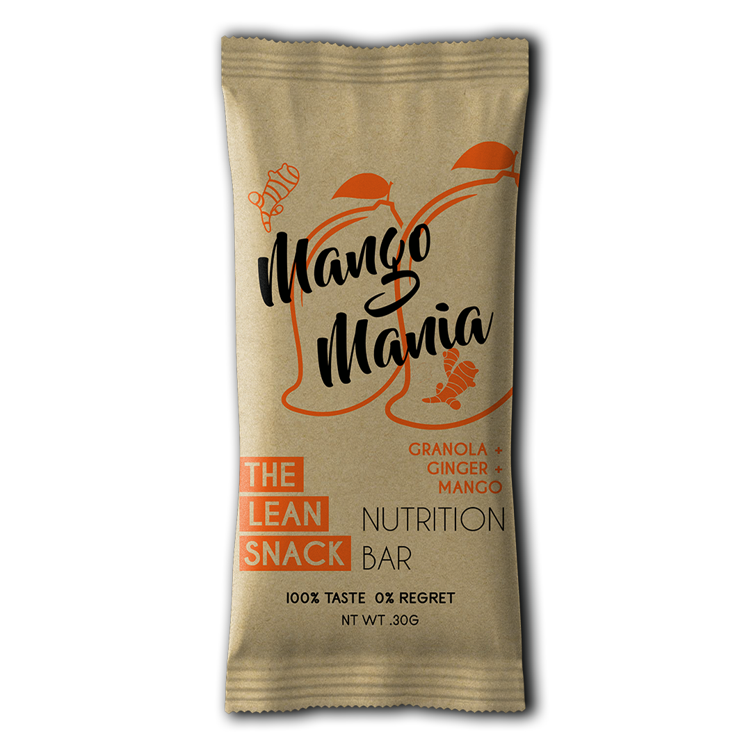 The Lean Snack Mango Mania Granola Bar