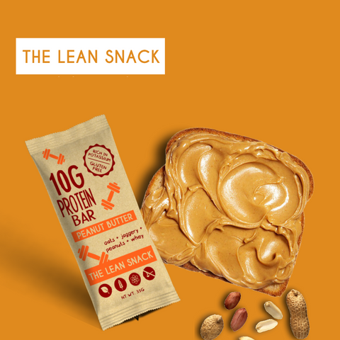 The Lean Snack Peanut Butter Protein bar