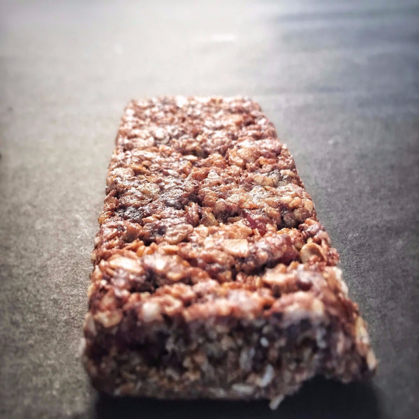 The Lean Snack Chocolate Special Granola Bar actual bar image