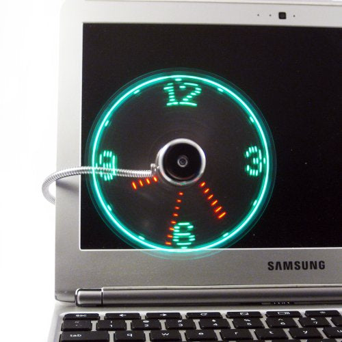 Social Hotcakes - USB Fan Clock -