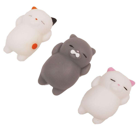 Social Hotcakes - Squishy Cat Stress Ball -