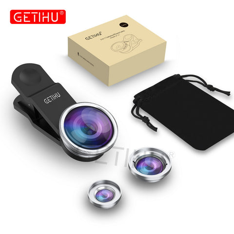 Social Hotcakes - 3 in 1 Phone Lens -