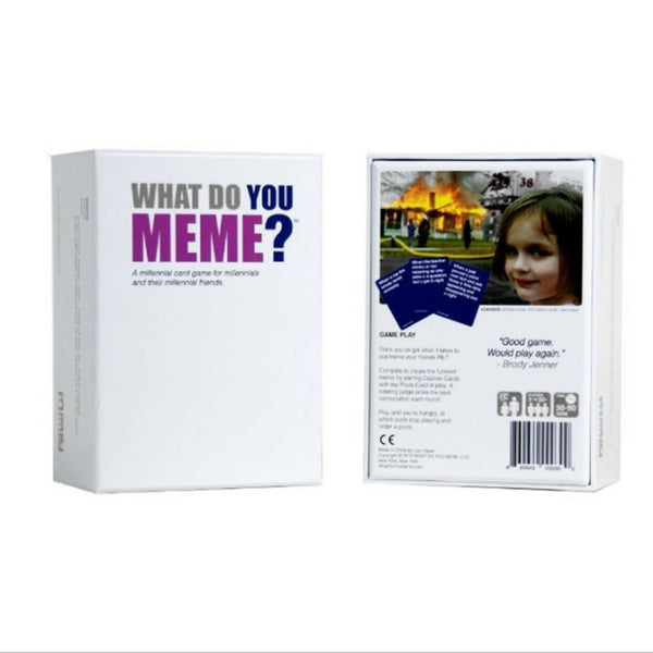 Social Hotcakes - WHAT DO YOU MEME? Table Card Game - Game
