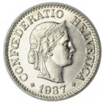 10 Rappen / Non-silver / Current / 1879 -