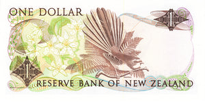 New Zealand / P-169b / 1 Dollar / ND (1985-89)