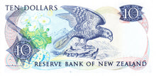 New Zealand / P-172b / 10 Dollars / ND (1985-89)