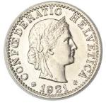 20 Rappen / Non-silver / Current / 1881 -