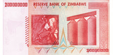 Zimbabwe / P-89 / 20 Trillion Dollars / 2008