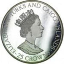 Turks and Caicos Islands / 25 Crowns / 1995